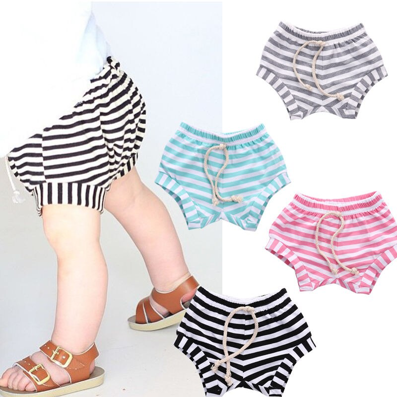 Stripe Shorties - Seed Kids Clothing
