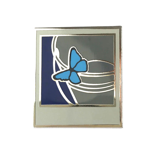 Life is Strange Polaroid Butterfly Hard Enamel Pin