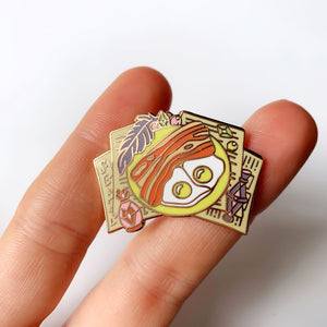 Howl's Breakfast Enamel Pin