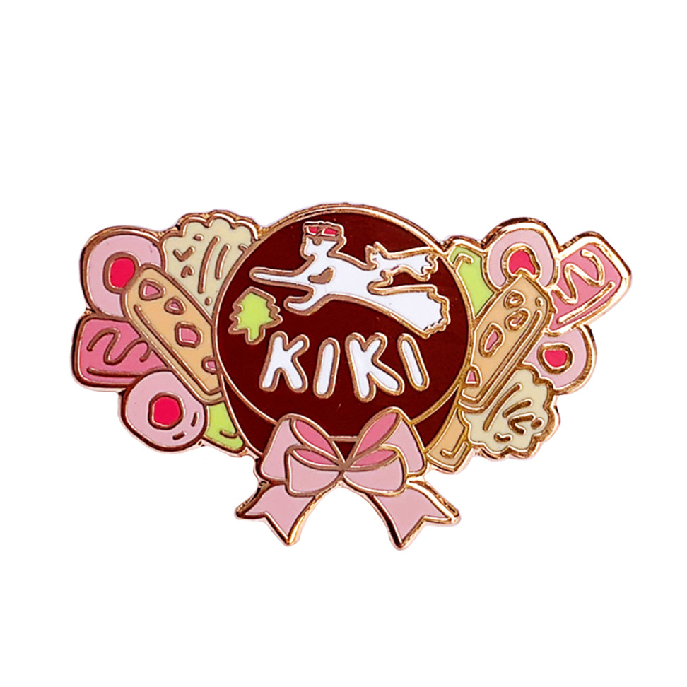 Kiki's Cake and Cookies Enamel Pin