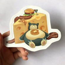 Snorlax Vinyl Sticker