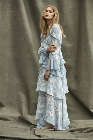 Morning Frost Maxi Dress