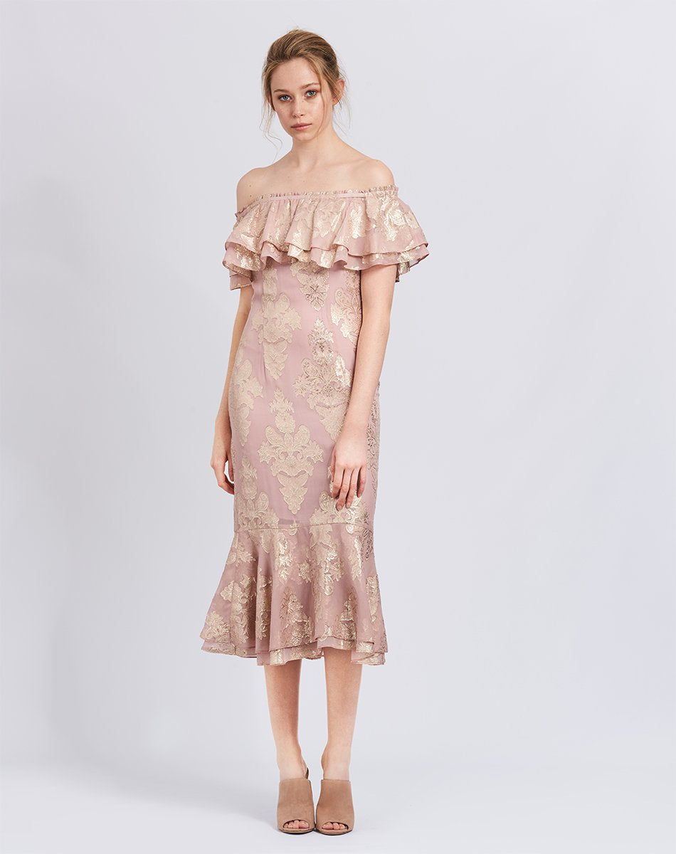 Blushing Lotus Dress