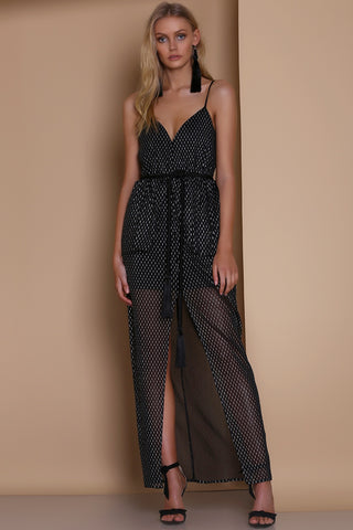 Ornate Dress - Black