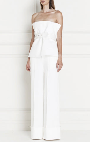 Fragment Crepe Cuff Pant