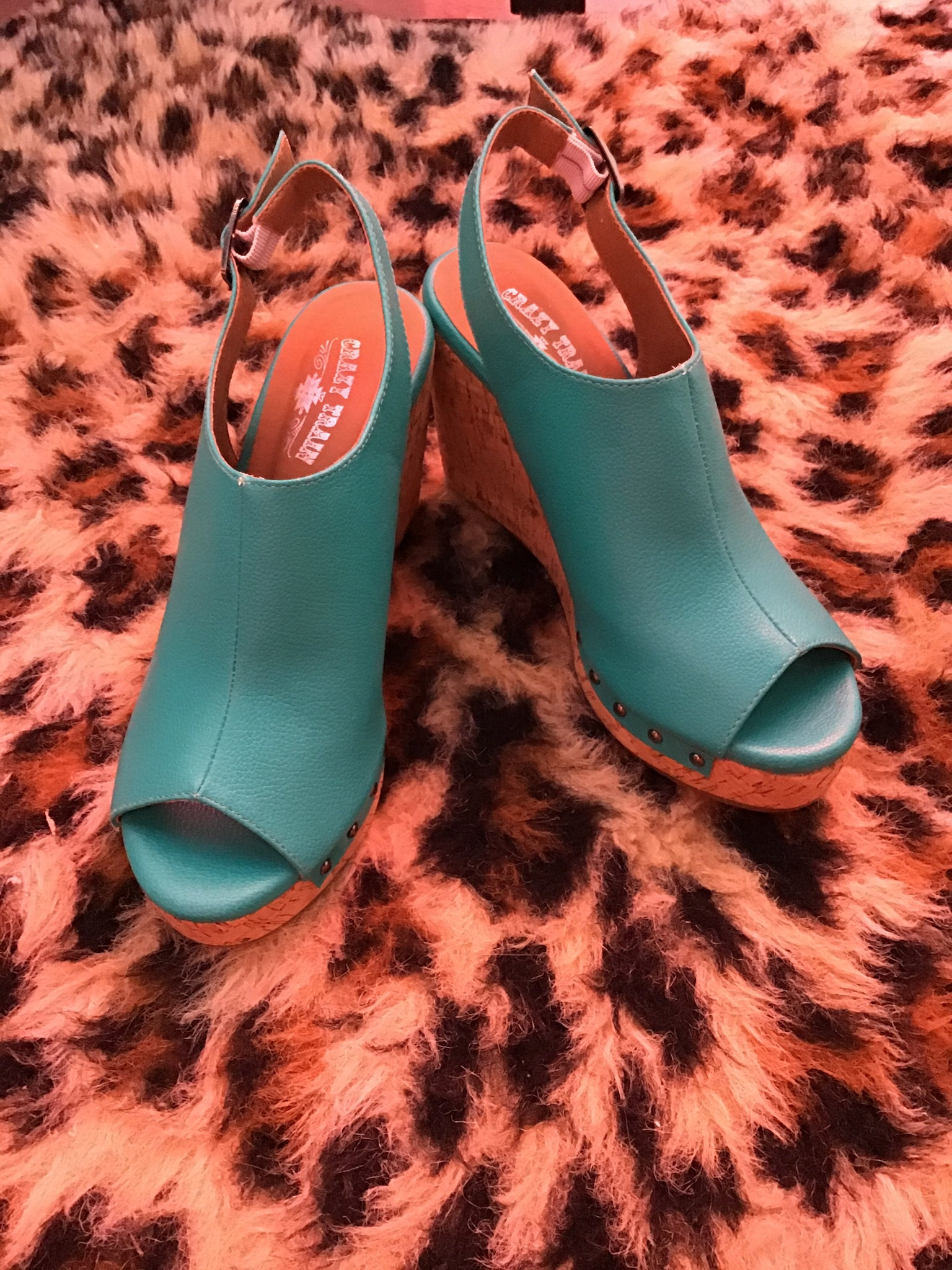 Teal Wedge