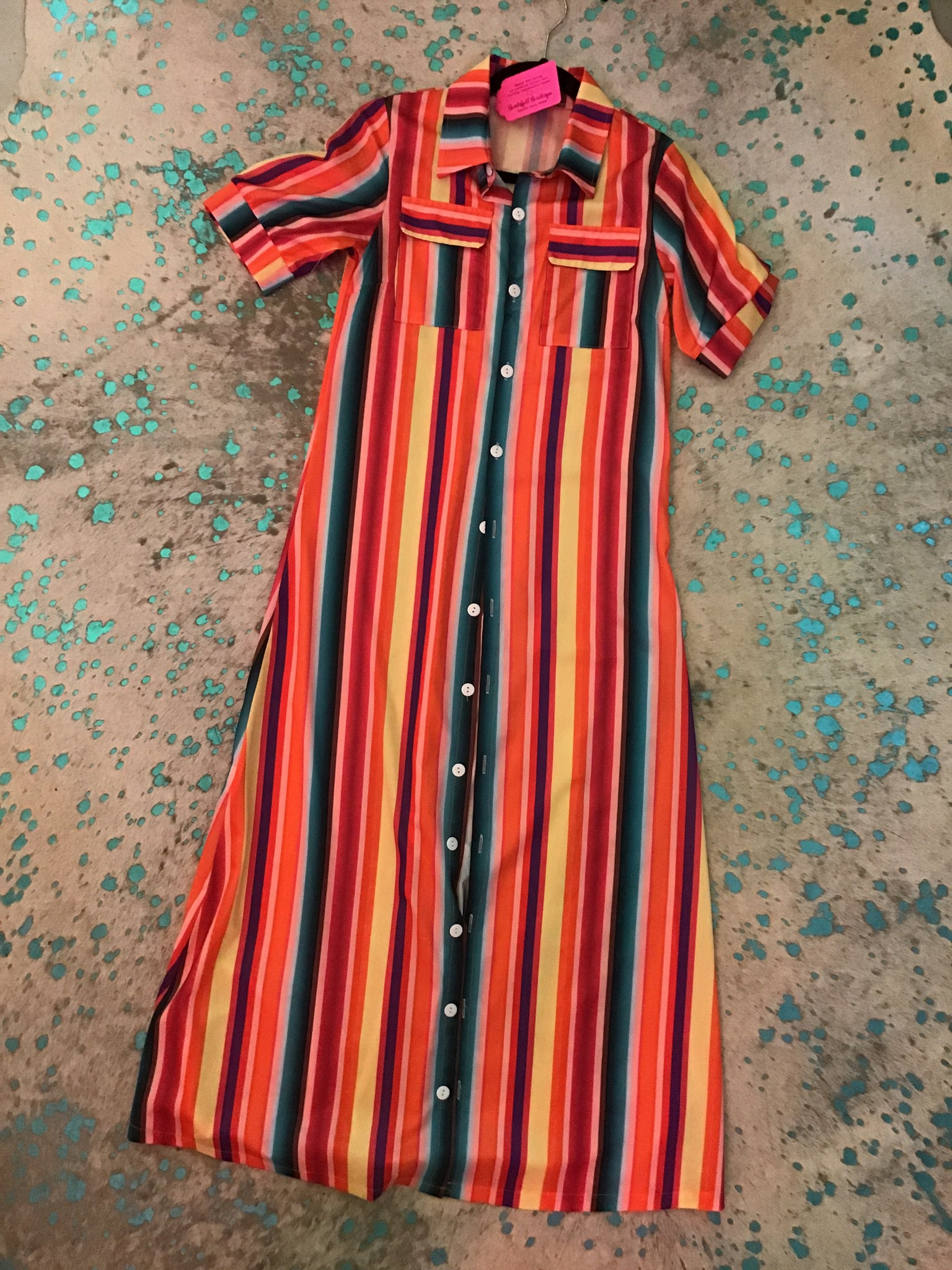 Serape Button Down