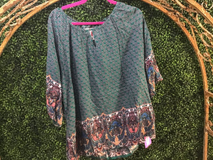 Medallion Blouse