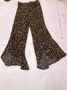 Leopard Paltrow Pants