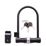 MEETLOCKS Bike U Lock  12mm with Sturdy Mounting Bracket 3 Keys - bike tube, bike torch, bike light, bike pedals, bike grips, cycling sunglasses,bike pump