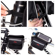 "MEETLOCKS Bike bags Cycling Panniers Front Tube Bag Phone Screen 5.7"" - bike tube, bike torch, bike light, bike pedals, bike grips, cycling sunglasses,bike pump"
