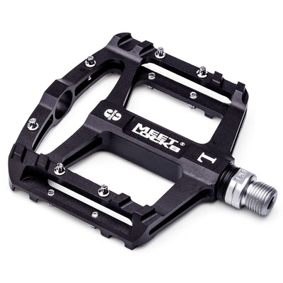 MEETLOCKS Sealed Bike Pedals CNC Aluminum Body for MTB BMX