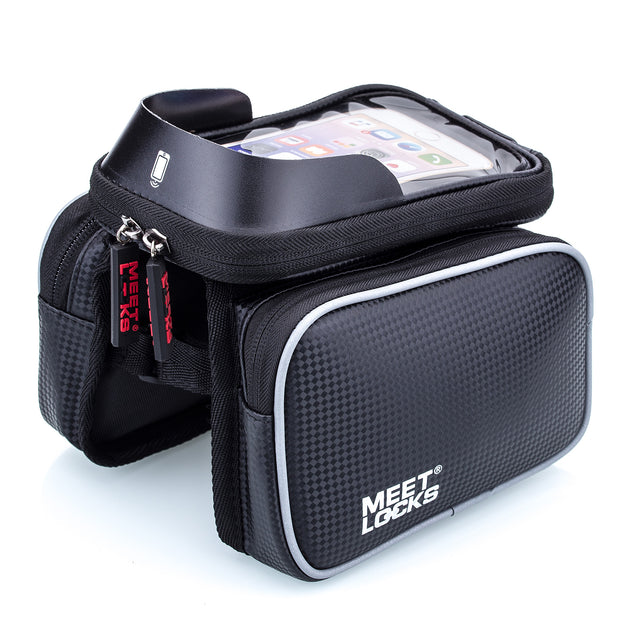 MEETLOCK Bike Front Frame Bag 5.7 Inch Phone Waterproof, BABG0007
