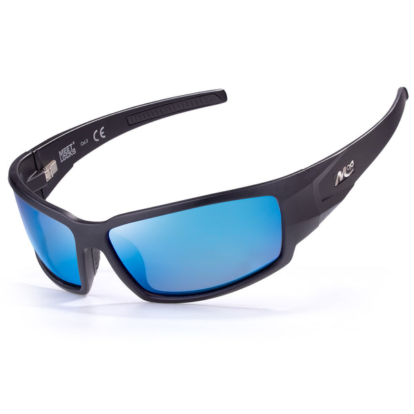 Meetlocks Polarized Sports Sunglasses  HD Polarized LENS,TR90 Felixable Frame