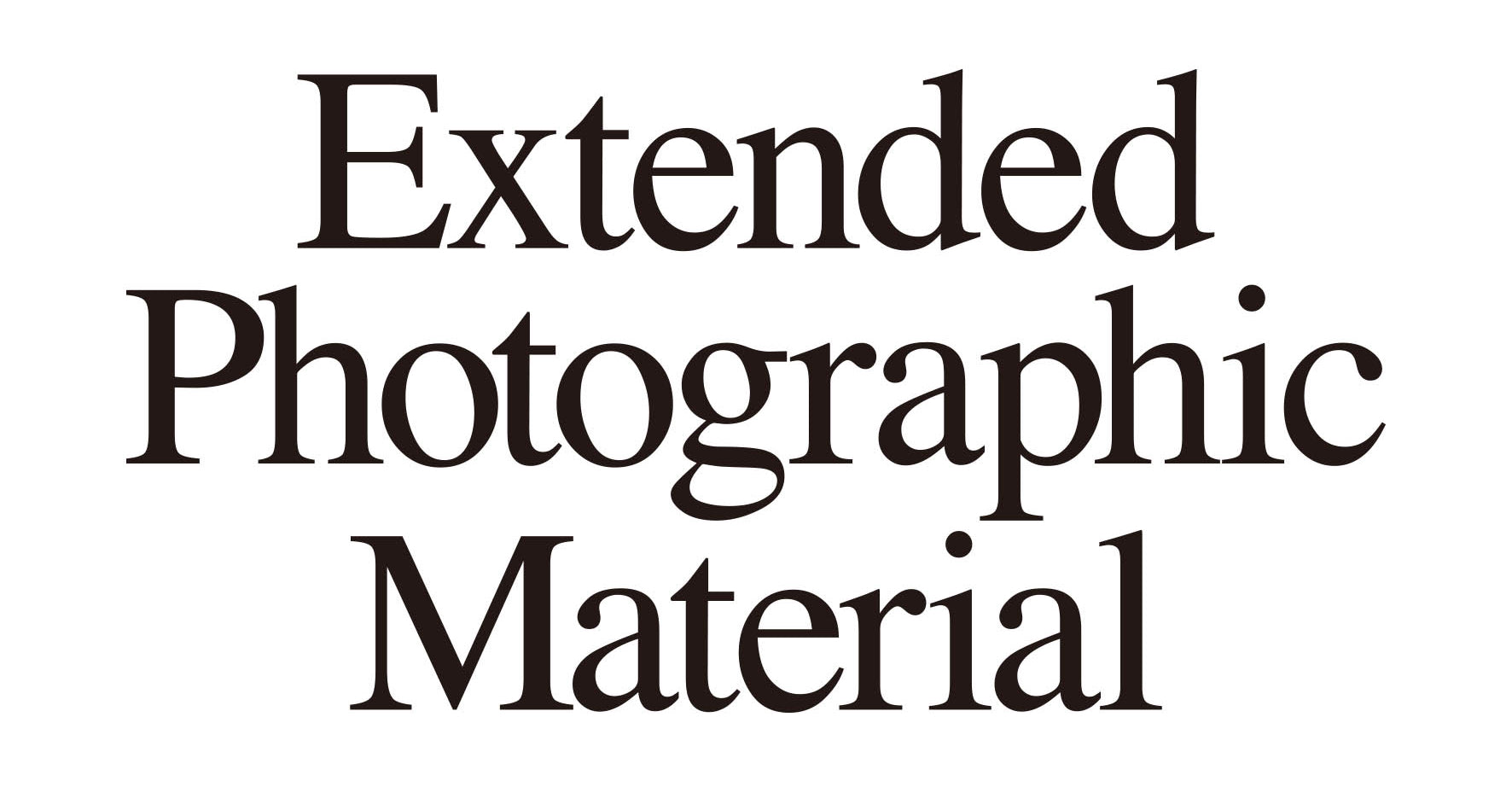 extended photographic material