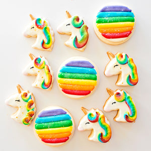 Send a Magical Unicorn Cookie Marshmallow Box
