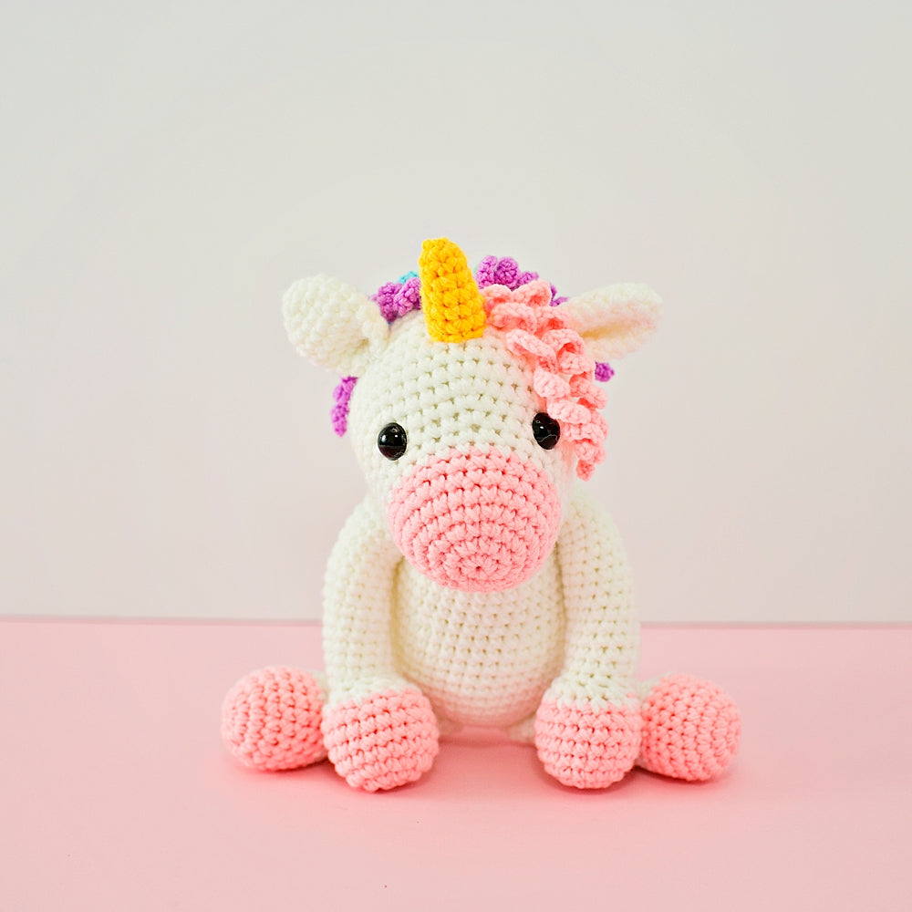 Twinks Unicorn Crochet Doll