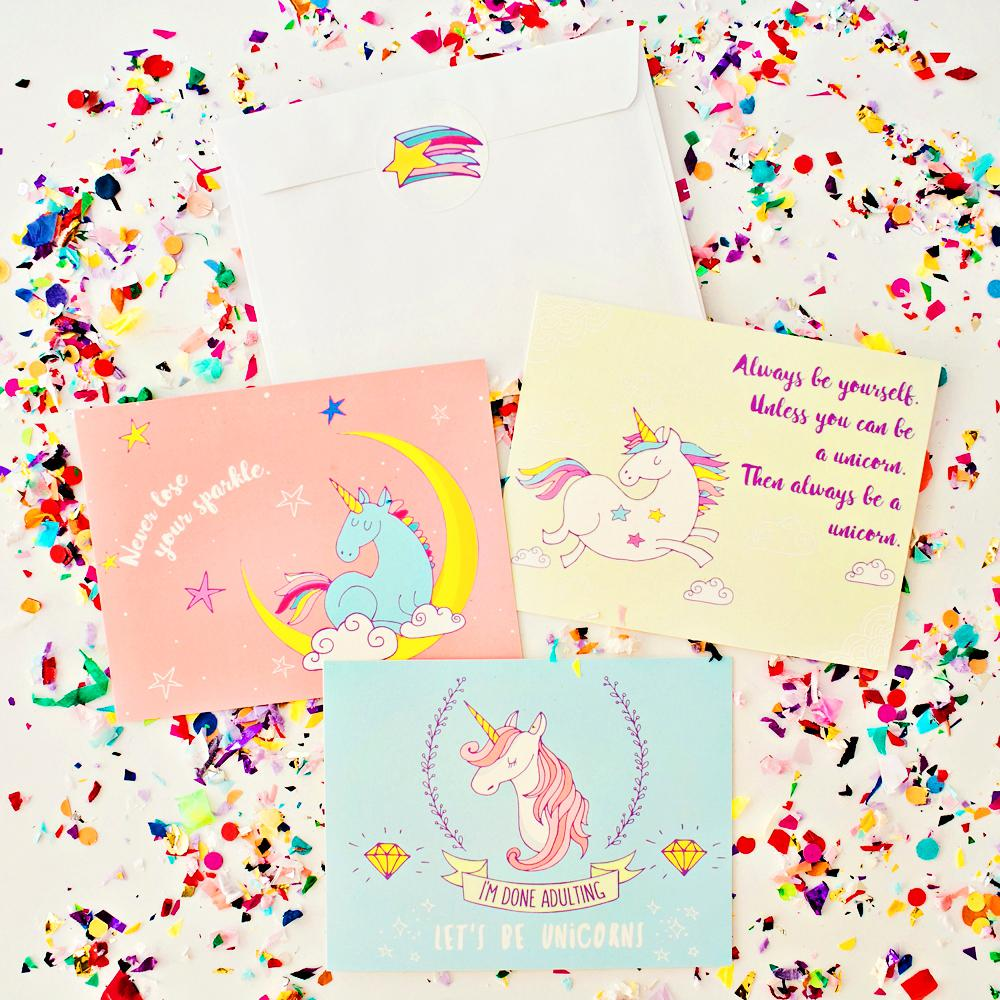 Magical Unicorn Birthday Box