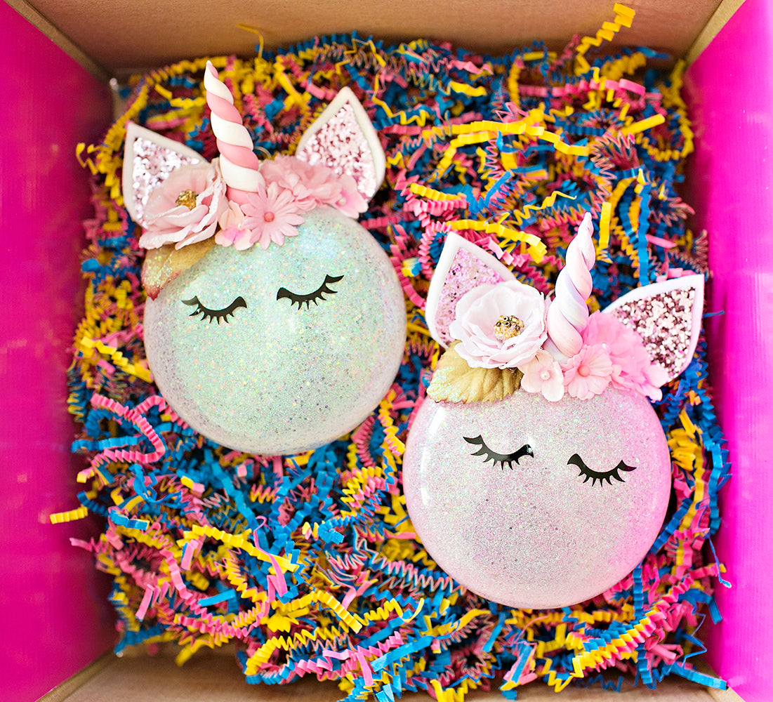 Send Magical Unicorn Ornaments