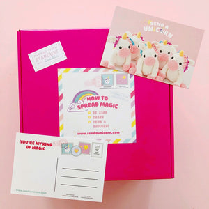 Send a Magical Unicorn Birthday Box
