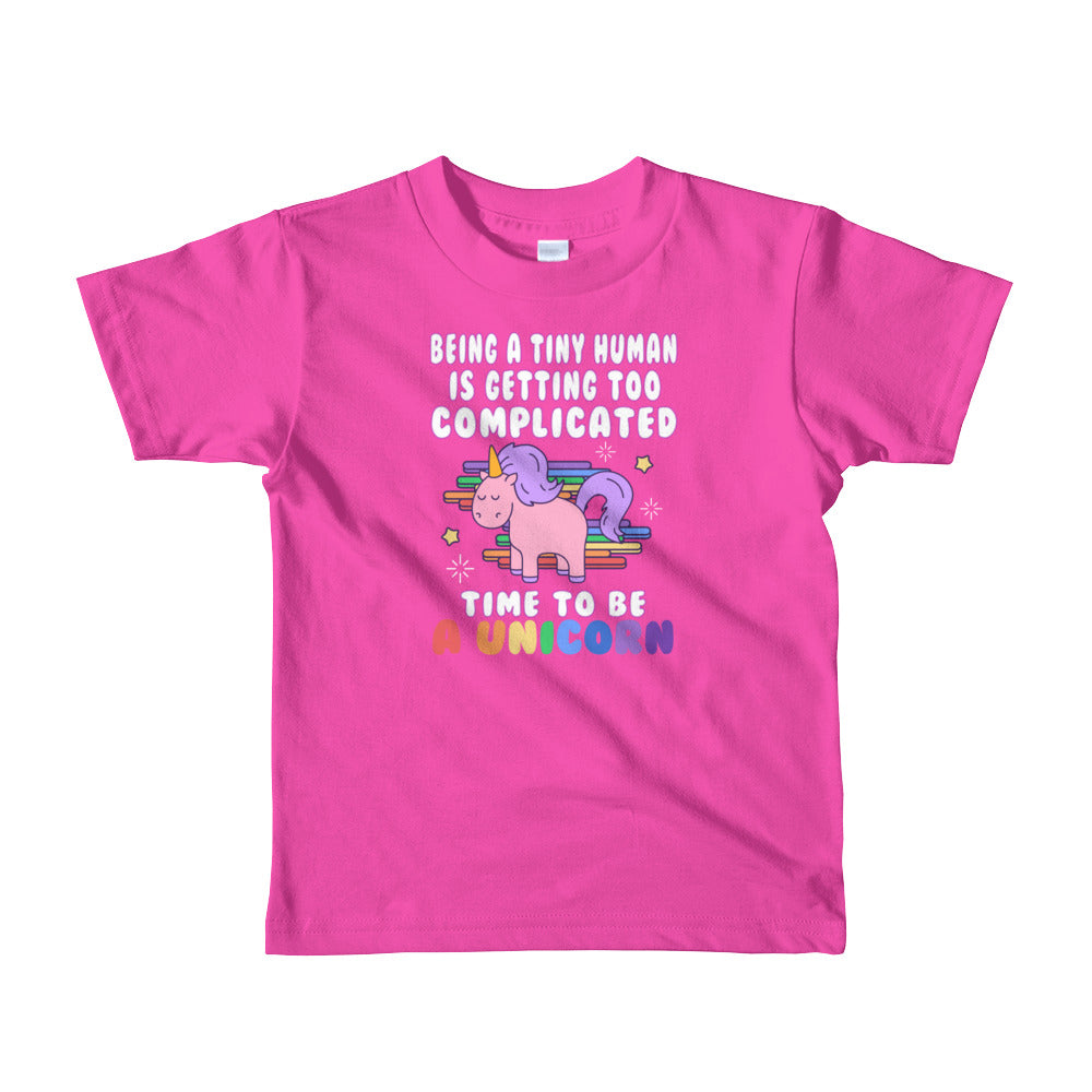 Time to Be a Unicorn Toddler Tee