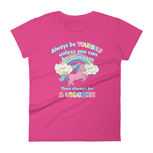 Always Be a Unicorn Women's Tee