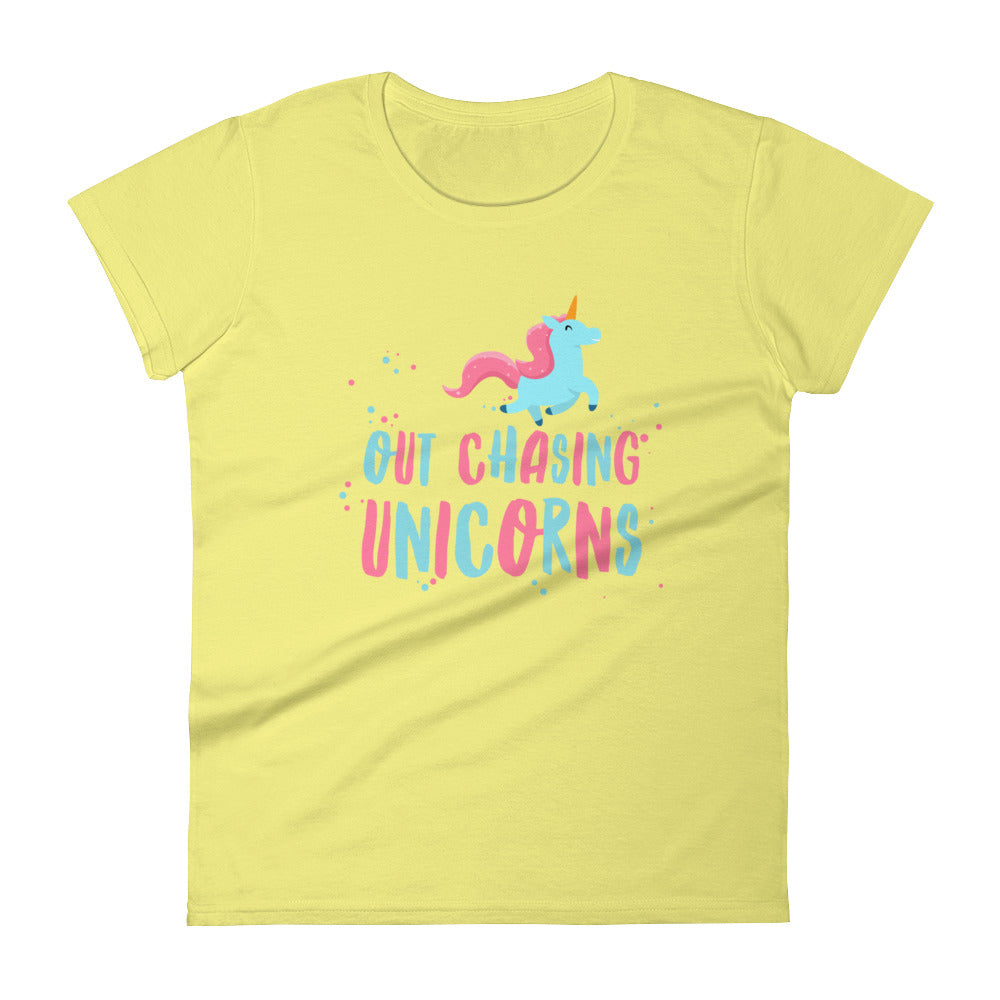Out Chasing Unicorns Women's Tee