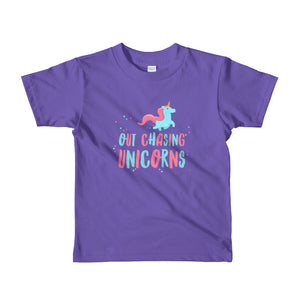 Out Chasing Unicorns Toddler Tee