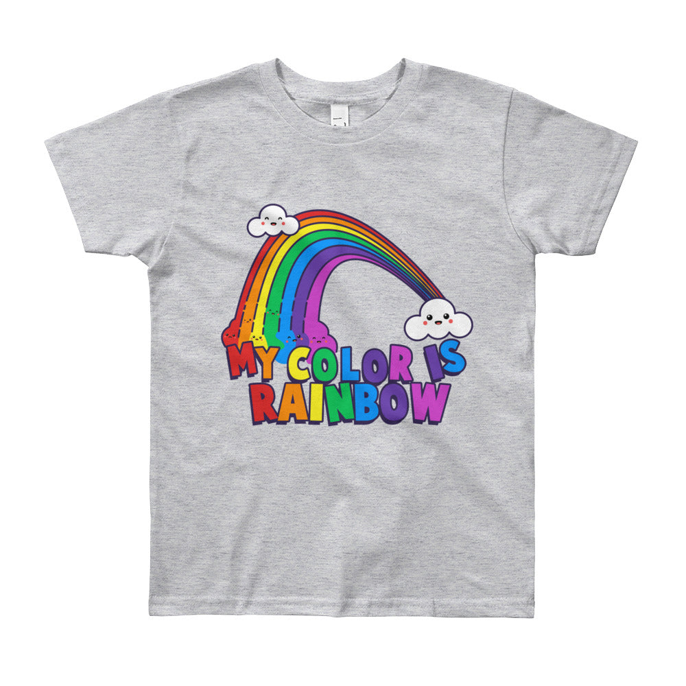 My Color is Rainbow Kids Tee