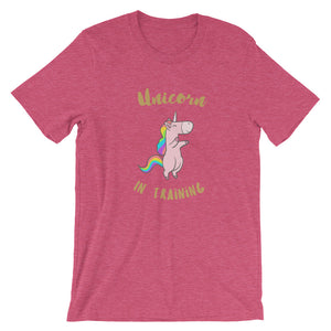 Unicorn in Training Adult Tee