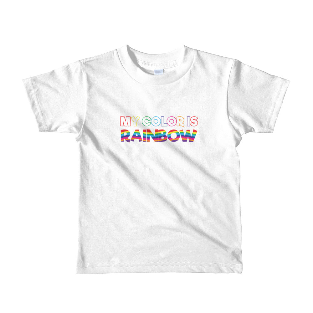 My Color is Rainbow Toddler Tee