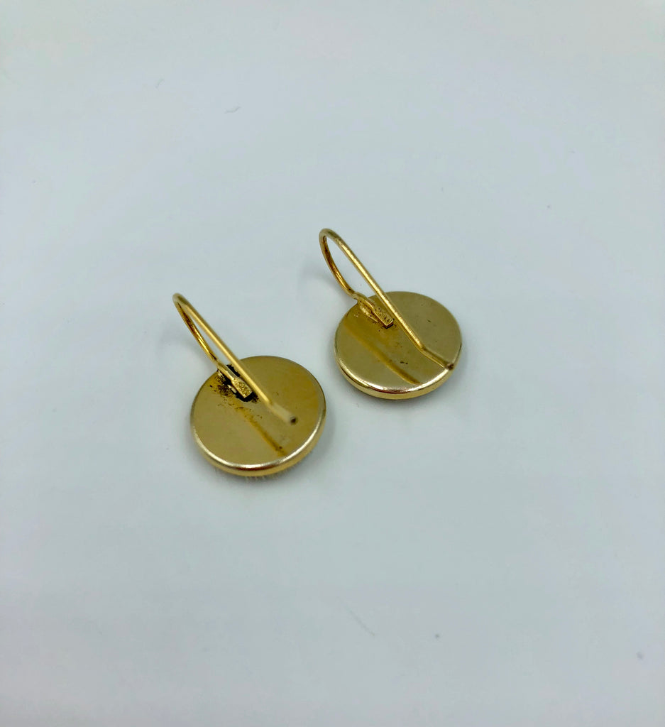 Mea Earrings Gold