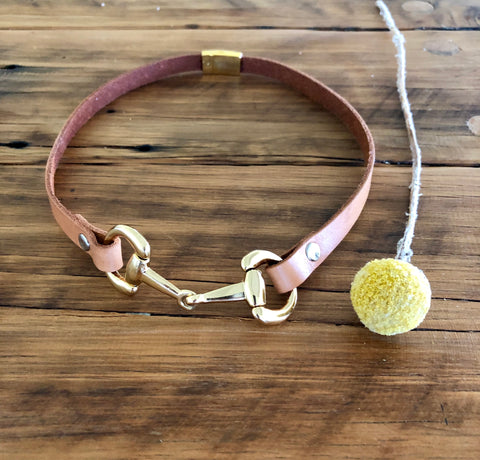 Charlotte Necklace with Snaffle Bit