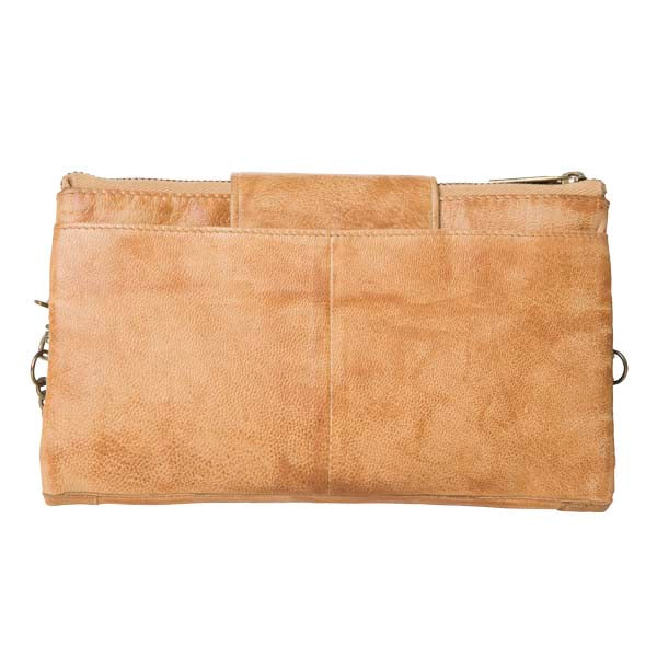 Prato Leather Wallet - Camel
