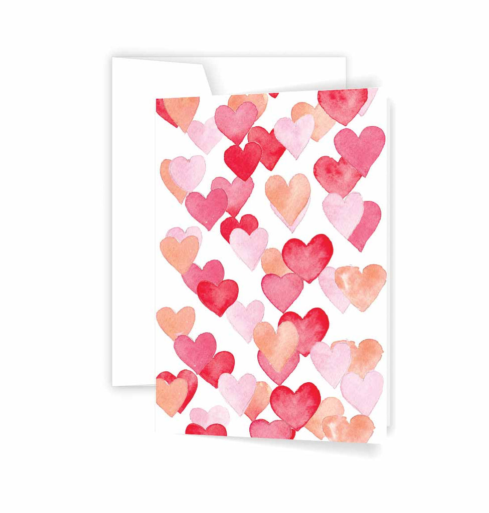 Lots of hearts cards