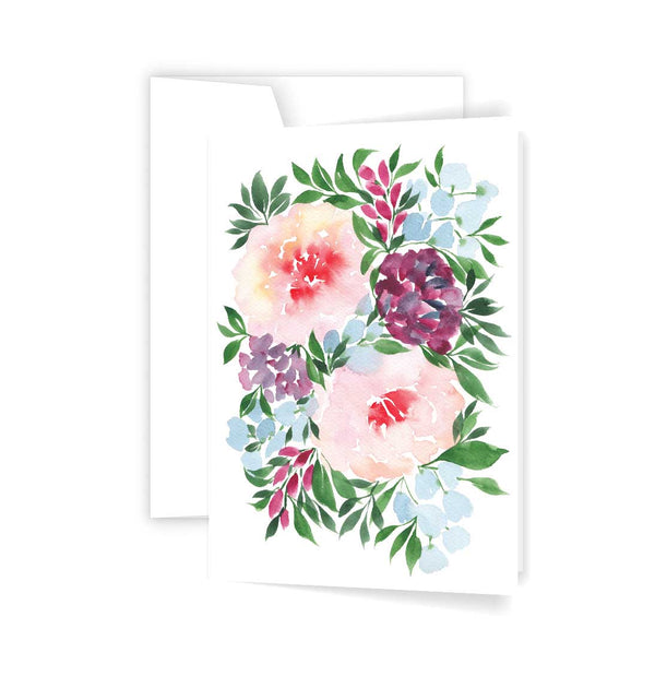 Winter blooms card