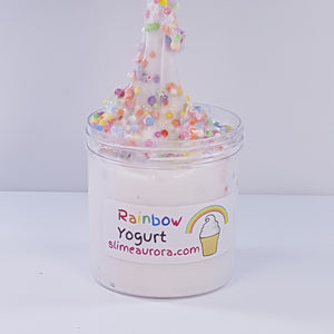 Rainbow Yogurt Slime