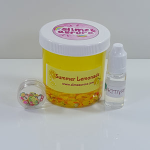 Summer Lemonade Clear Slime