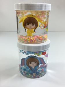 Cutie Girl (Clear Slime Collectibles)