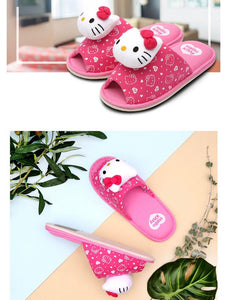 Hello Kitty Indoor Cushion Slippers
