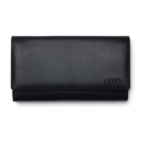 Audi Wallet leather, womens, black
