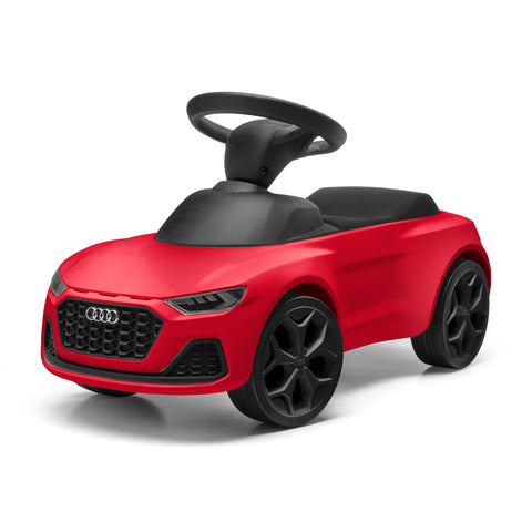 Audi Junior quattro, kids, red