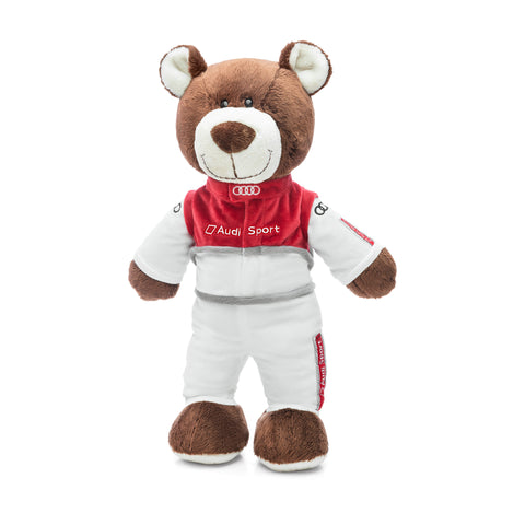 Audi Sport Motorsport bear, kids, 40 cm