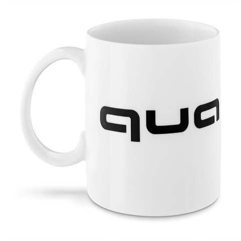 quattro Mug, white/black