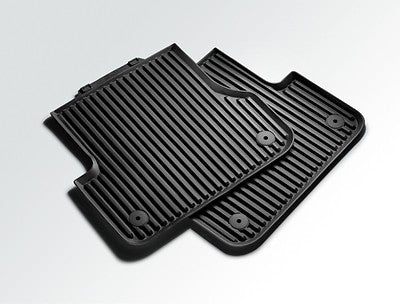 All-weather floor mats. Rear