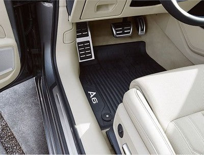 All-weather floor mats. Front