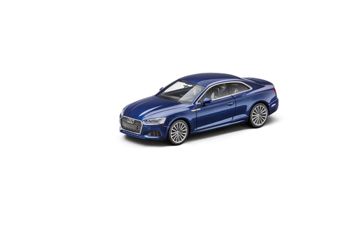 Audi A5 Coupé, Scuba blue, 1:87