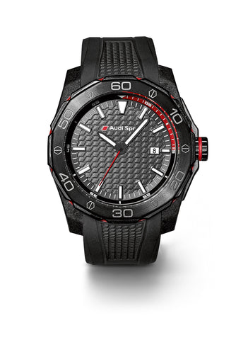 Audi Sport men's watch, black