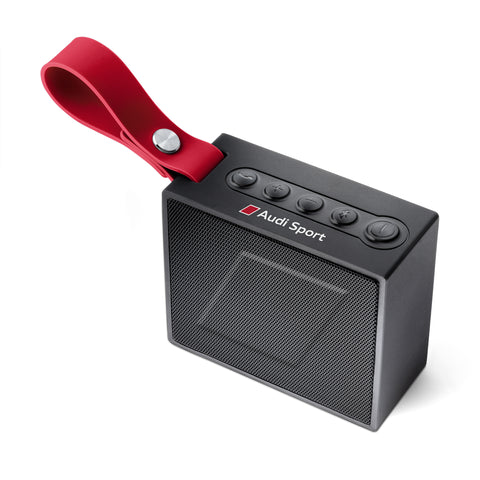 Audi Sport Bluetooth speaker, black/red