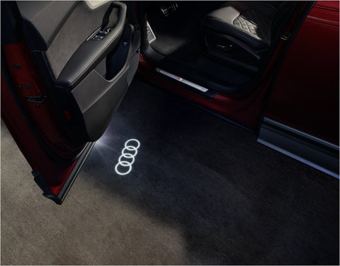 Door entry LED lights, Audi rings